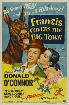 Francis Covers the Big Town FilmPoster