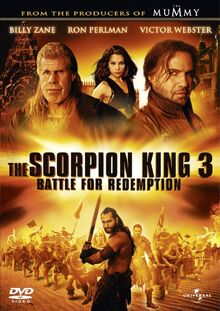 Scorpion King 3 DVD Cover