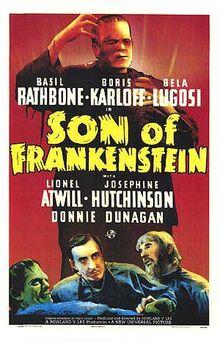 Son of Frankenstein movie poster