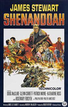 Shenandoah 1965 poster