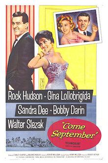 Come September - Film Poster
