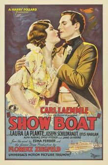 Poster of Show Boat (1929 film)