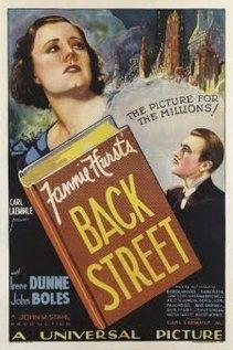 Back Street 1932
