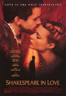 Shakespeare in Love 1998 Poster