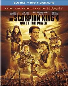 -The Scorpion King 4, Quest for Power- Blu-Ray Cover