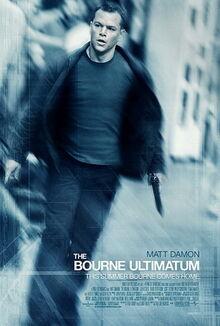 The Bourne Ultimatum (2007 film poster)