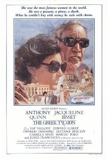 The Greek Tycoon (movie poster)
