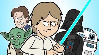 ♪ THE EMPIRE STRIKES BACK THE MUSICAL - Animation Parody Song