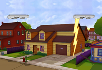 Garfield's House redo With lightning 1