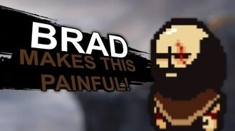 What if Brad from Lisa The Painful RPG was in Smash Bros? (Smash Bros Lawl Moveset)