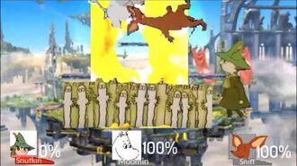 Super Smash Bros Lawl Rebuuted-Snufkin Moveset