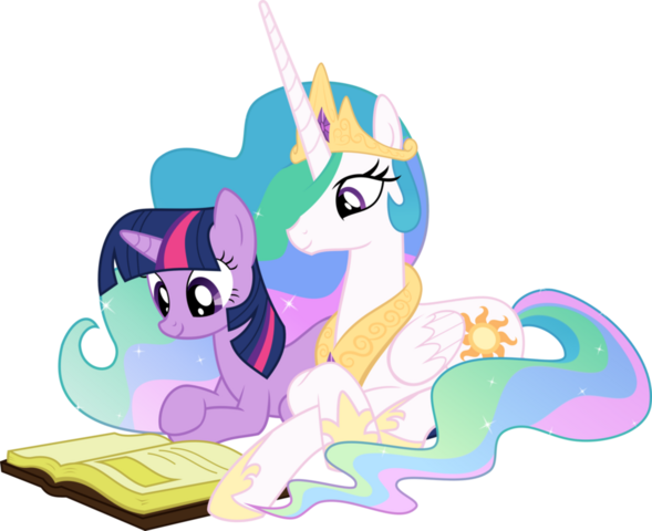 File:Twilight and Celestia.png