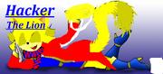 Hacker the lion