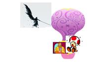 Sephiroth pops ghey balloon