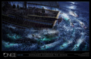 Mermaids Churing Concept Art
