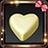 White Choco Heart