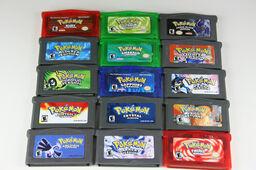 Pokemon shames-GBA