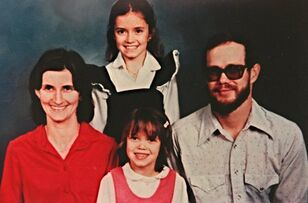 Joan, hal, michelle standing and Christie rogers