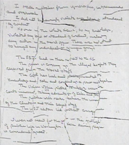 Vince foster2 suicide note