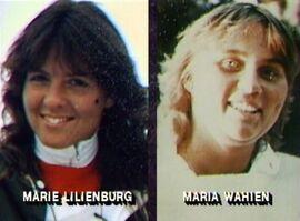 Marie lilienburg and maria wahien