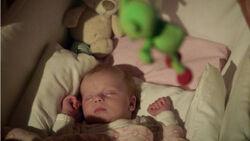 Amelie als Baby