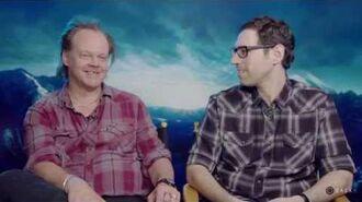 """Until Dawn """"A Thousand Pages"""" (Bonus Content) Writer Director Graham Reznik Larry Fessenden"""