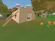 Confederation Bridge - hospital tent