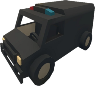 Police Truck 802
