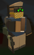 Player holding Chocolate Bar