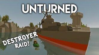 Unturned Destroyer Ship Raid! (Roleplay Survival)