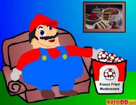 Eat The Cake Paper Mario