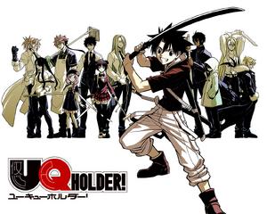 UQ Holder! Manga
