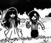 Honoka and Isana first appearance