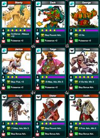 Pack cursed beach fullXP Cards