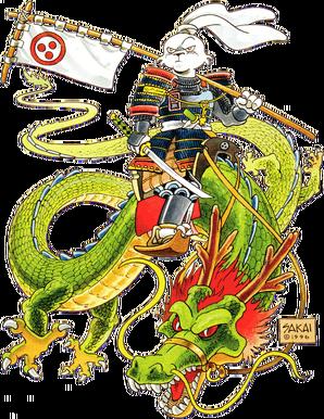 Usagi on dragon