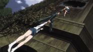 Ushio and Kenichi catching Reiko