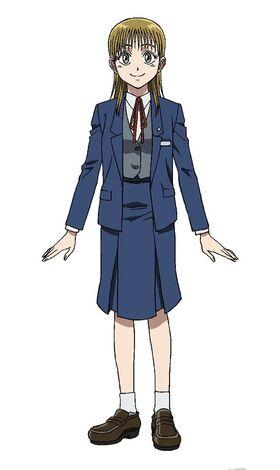 Mayuko anime design