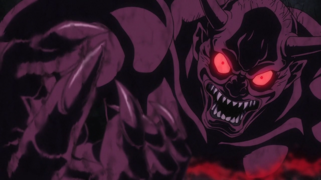 File:Michio as Oni coming out of the painting.png