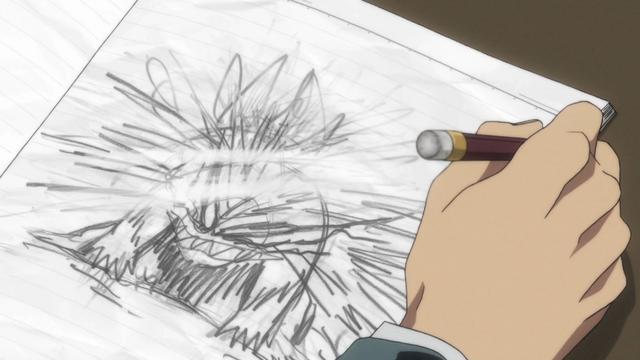 File:Episode 1 - Ushio draws Tora.png