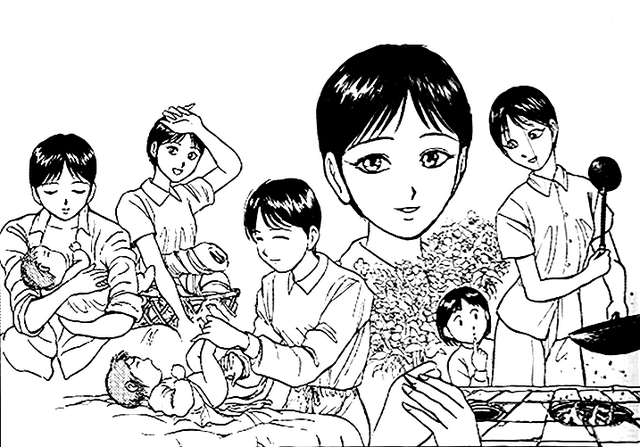 File:Chapter 304 - Hai Fong caring for Lei Xia.png