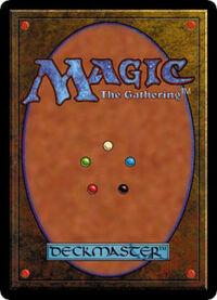 Magic the gathering-card back