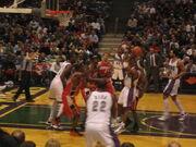 Bucks vs Bobcats - February 11th, 2006