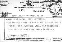 Beatles Telegram