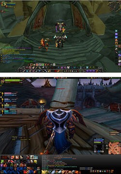 Modified WoW User Interface