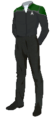 Uniform Officer Green