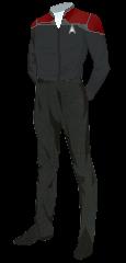 Uniform Officer Red