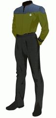 Uniform duty gold cwo