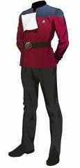 Uniform dress red cwo