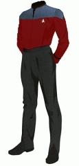 Uniform duty red wo