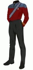 Uniform duty red chaplain lt